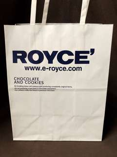 ROYCE Chocolate paperbag Japan