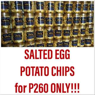 SALTED EGG POTATO CHIPS