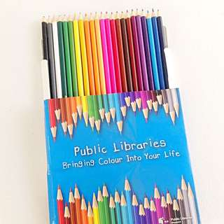 Color Pencils - Free Postage