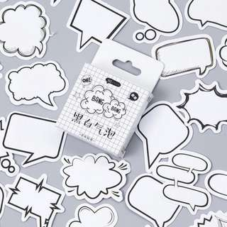 [IN] [ST] Boxed Stickers: Speech Bubbles