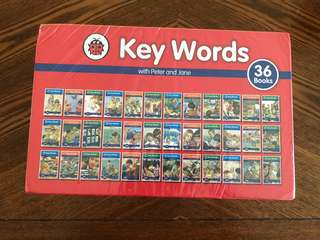 🚚 Key words (36 books)