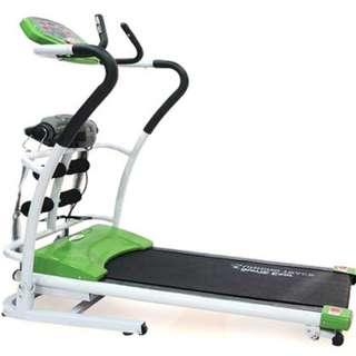 Treadmill elektrik 3 in 1 alat pelangsing elektrik