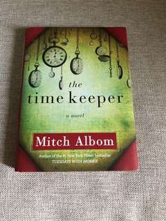 The Time Keeper by Mitch Albom (HARDBOUND book)