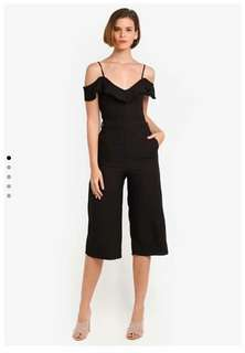 🐊Ruffle Jumpsuit  with belt