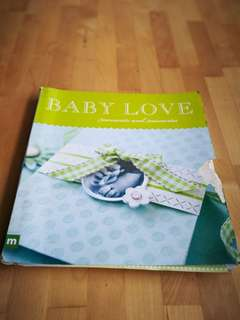 Baby love, moment and memories crafts idea.