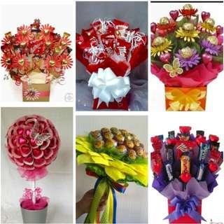 Flowet chocolates bouquet