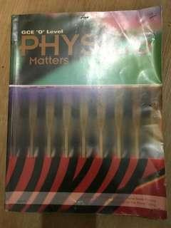GCE O Level Physics Matters