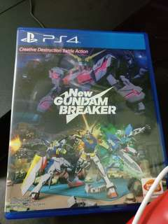 New Gundam Breaker (Unredeemed Code)