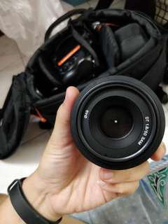 Sony 50mm f1.8 DT alpha A-mount lens