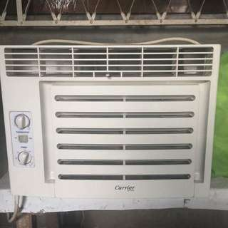 Aircon (window type) Carrier
