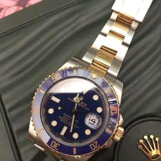 Rolex 116613LB 888行貨全套有單