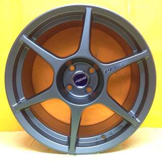 17inch SPORT RIM BUDDY CLUB P1 RACING WHEELS