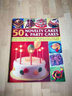 50 novelty & party cakes