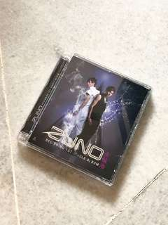 TVXQ- Zuno Single Album