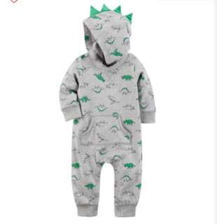 🚚 *24M* Brand New Carter's Dino Jumpsuit For Baby Boy