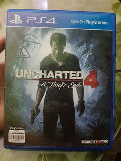 FS:  BD Uncharted 4 ps4 second idr 250000 NEGO