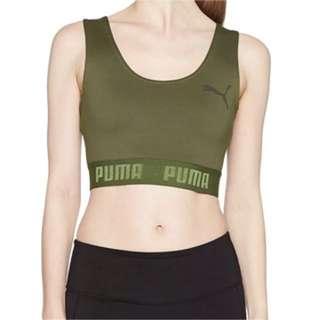 Puma Crop Top in khaki