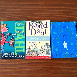 3 for $12: By Roald Dahl: George's Marvellous Medicine; Going Solo; Matilda