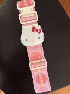 全新絕版Sanrio Hello Kitty 行李帶