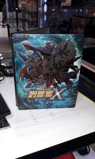 Super Robot Wars X steelbook