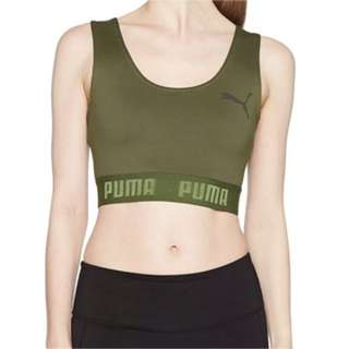 Puma Crop Top in khaki