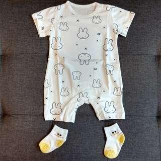 Baby Romper - Rabbit