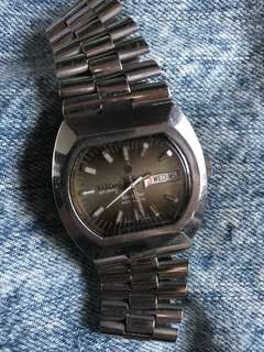Vintage Swiss automatic titoni space star
