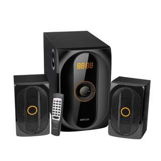 Astrum MS300 Multimedia Speaker Bluetooth MMS 2.1CH 40W USB SD FM radio Remote Control LED display