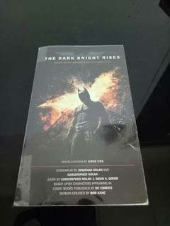 The Dark Knight Rise Novel