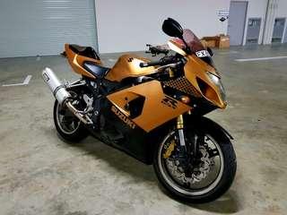 Suzuki Gsx 600 Body Wrap