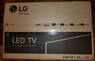 LG TV+Monitor 22''