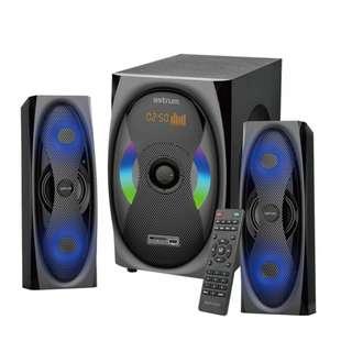 Astrum MS500 2.1CH 120W Multimedia Speaker Bluetooth USB SD FM Radio Remote Control LED DIsplay