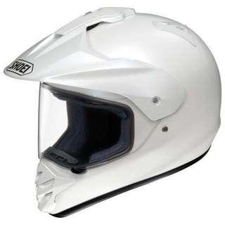 Shoei Hornet DS ( White ).