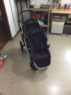 Stroller Baby Jogger City Select Purple colour