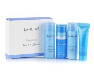 Laneige Moisture Care Trial Kit (4 items)