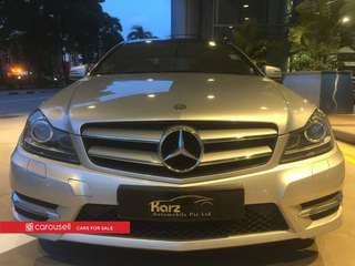 Mercedes-Benz C-Class C250 CGI Coupe