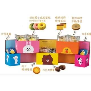 一之鄉-LINE甜點百寶盒(20入/盒)