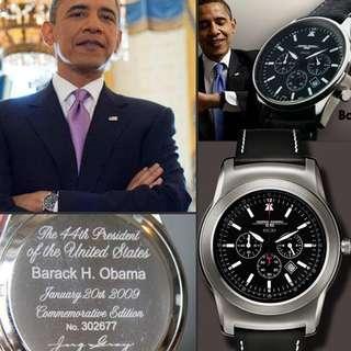 Obama's wristwatches