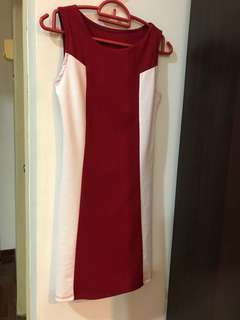 Boutique red dress