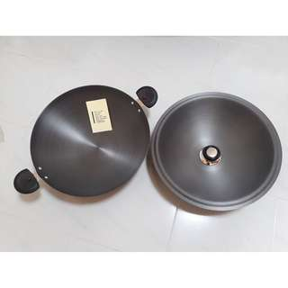 [Include Delivery] Wok - Hard Anodized Aluminum Cookware (Bought from CK Tang)