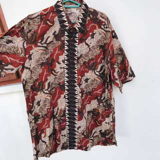 (NEW) Men's Batik Top