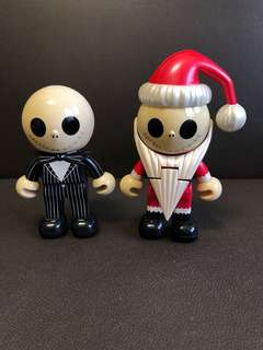 Tim Burton's the nightmare before Christmas 怪誕城亞Jack (2 pcs)