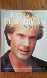 Richard Clayderman for Easy Piano