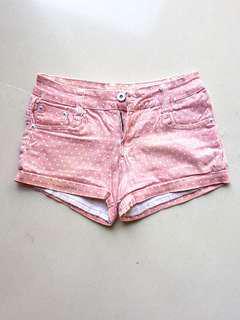 🚚 Pink Polka Dots Shorts