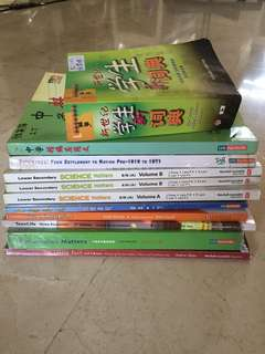 🚚 Secondary 1 and 2 textbooks