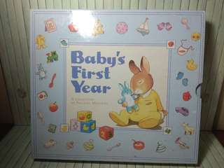 Baby's first year (album foto bayi)