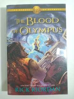BOOK BUNDLE: Heroes of Olympus Series by Rick Riordan (Book 3, 4 and 5)