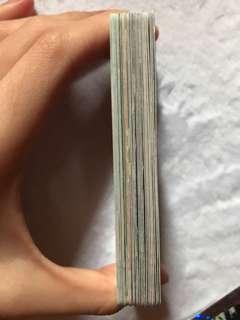 yes卡  7張簽卡 19張白卡 送閃卡