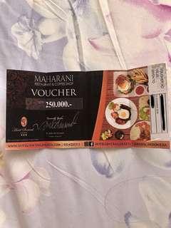 250k Maharani Restaurant Hotel Sentral