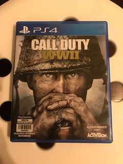 PS4 Call of Duty WWII 二戰